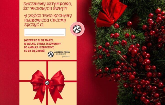 Radosnych Świat Bożego Narodzenia - Akademia Tenisa Chełmiec, Janusz Stanek