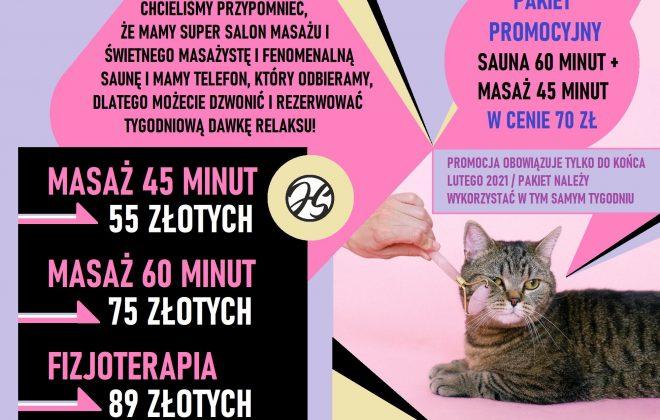 masaż, promocja, Akademia Tenisa Chełmiec - Janusz Stanek, tenis ziemny, korty tenisowe, tenis Nowy Sącz