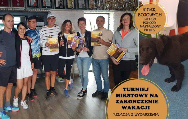 MIKSTOWE ZAKOŃCZENIE WAKACJI, Akademia Tenisa Chełmiec - Janusz Stanek, tenis ziemny, korty tenisowe, tenis Nowy Sącz
